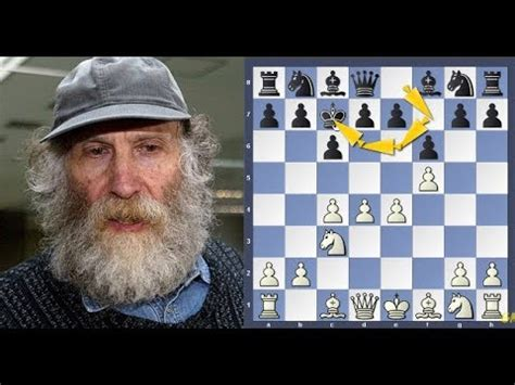 Bobby Fischer Makes 4 Consecutive Crazy Opening King Moves