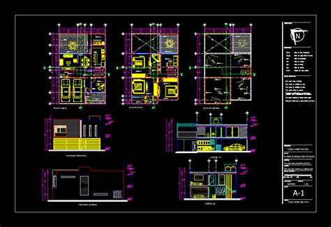 House 10x15 in AutoCAD | Download CAD free (446