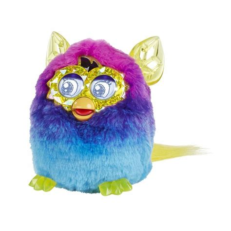 Furby Boom Crystal Series Pink Blue Ages 6+ Talking Pet