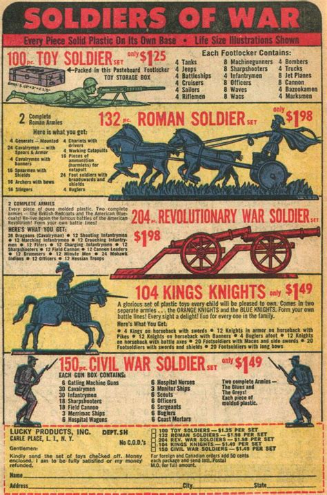 Doug's Soldiers: Comic Book Toy Soldiers: Lucky Toys 204