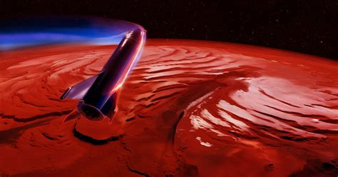 SpaceX Working With NASA to Find Mars Landing Sites for