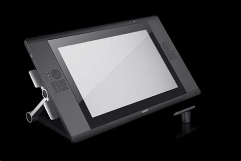 Wacom's Cintiq LCD graphics tablets: a 24-inch multitouch